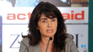 Gourdain Alexandra, administrator af NGO Actionaid Hellas og lågiver til premiereminister Kyriakos Mitsotakis