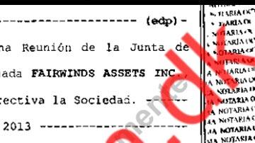 Fairwinds Assets Inc. - Υπεράκτεια Εταιρεία του Παναμά δωροδοκεί πρωθυπουργούς στην Ελλάδα.