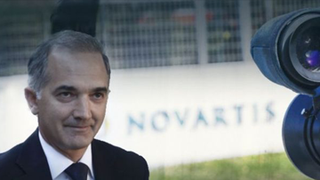 Marios Salmas name mentioned in documents from the FBI regarding the investigation of the corruption case with the pharmaceutical company Novartis